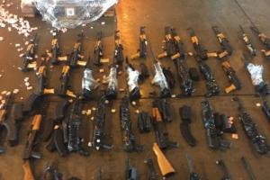 Gabinete de Intervenção Federal entrega para Polícia Civil 60 fuzis